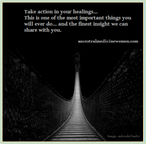 take action in healing