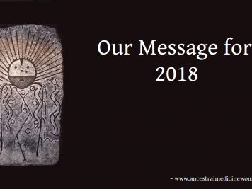 shaman sunrise our message